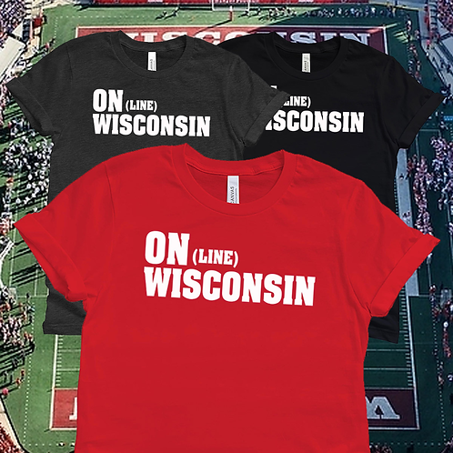 ON (Line) WISCONSIN Unisex T-Shirt