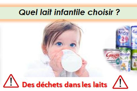 Quel lait infantile choisir ?