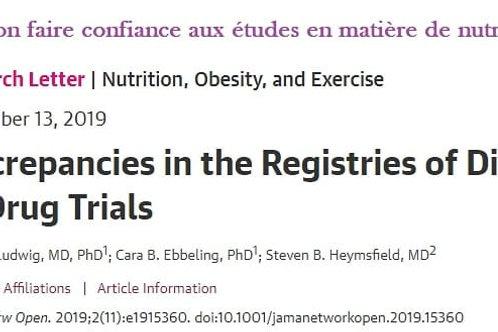 Peut-on faire confiance aux études en matière de nutrition ?