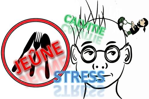 Jeûne, calvitie et stress