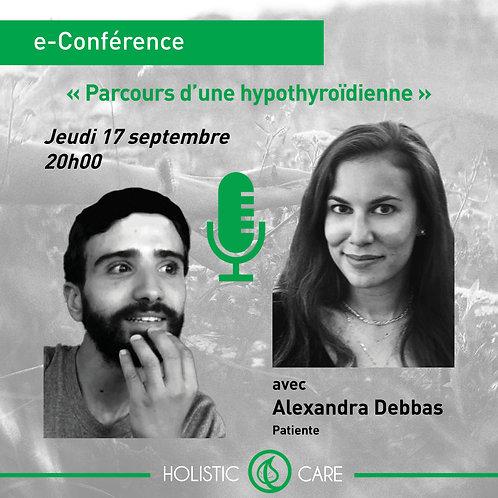 Replay e-Conference avec Alexandra Debbas