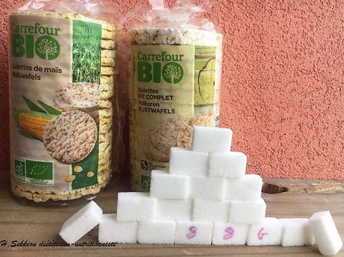 Galettes de riz ou maïs : aussi toxiques que le pop-corn?