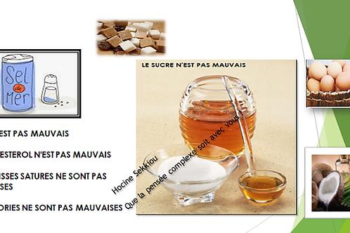 Nutri-Score et diabolisation du sucre, sel et AGS indispensables