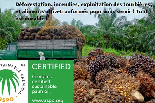 L'huile de palme : TOXIQUE !