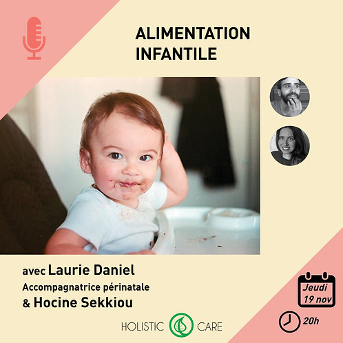 Replay e-Conference Alimentation infantile