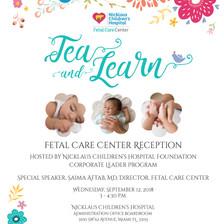 Event Invitation for Nicklaus Children's Hospital Foundation event