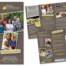 Broward Partnership for the Homeless Brochure Design