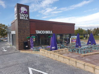 Entregamos el nuevo Taco Bell en el centro comercial H2 Ocio en Rivas.