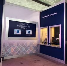 American Express Kiosk at Hollywood Studio