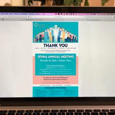 South Florida Health & Hospital Association event Invitation