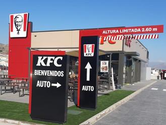 El Huercal en Almería, ya cuenta con su nuevo restaurante KFC.
