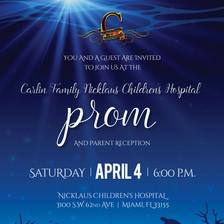 Event Invitation for Nicklaus Children's Hospital