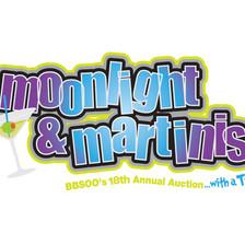 Moonlight & Martinis Logo Design