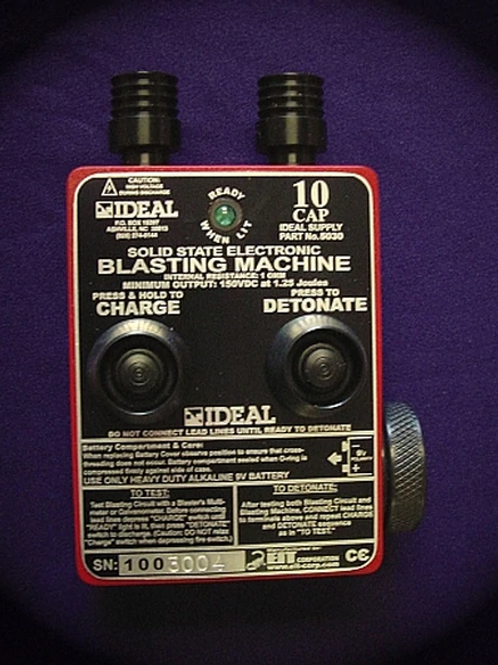 Blasting Machine - 10 Cap