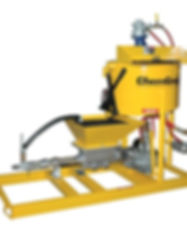 Paddle Mixing Grout Plant CG550 Anchor