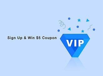 sign up FAHREN & win $5 coupon