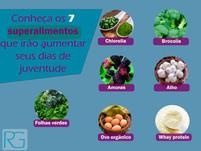 Conheça os alimentos rejuvenescedores