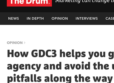 How GDC3 helps you grow your agency and avoid the usual pitfalls along the way