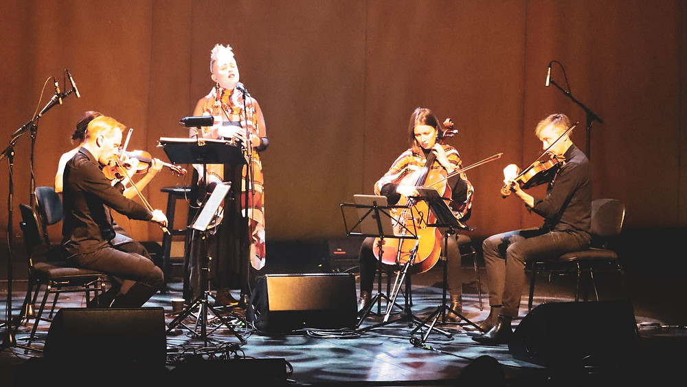 Katie Noonan and the Australian String Quartet