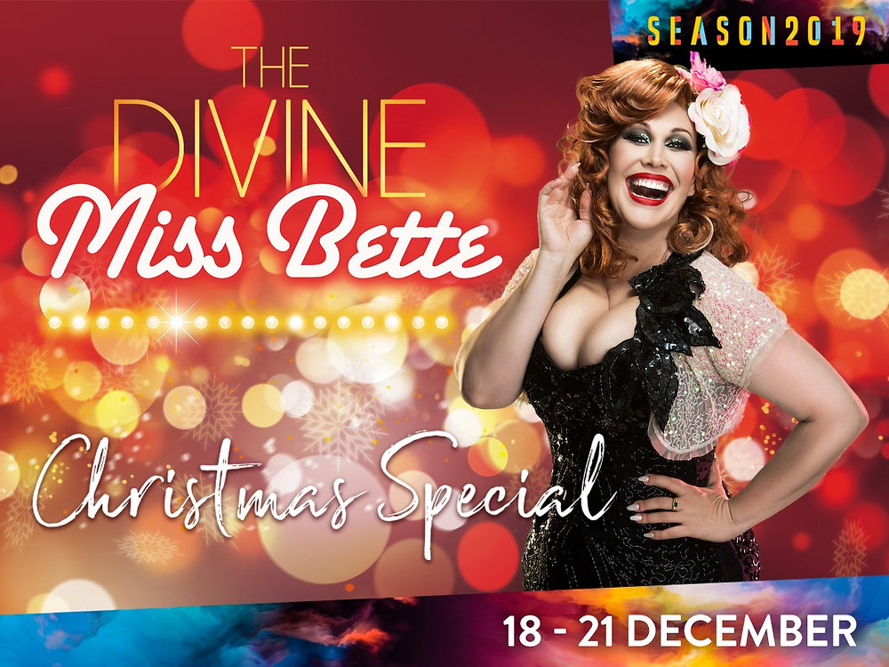 Catherine Alcorn as The Divine Miss Bette