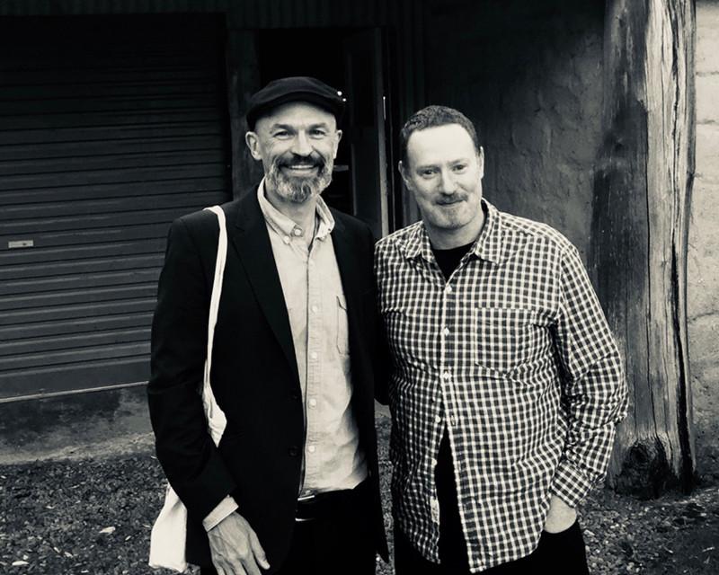 Carl Dewhurst with pianist Matt McMahon