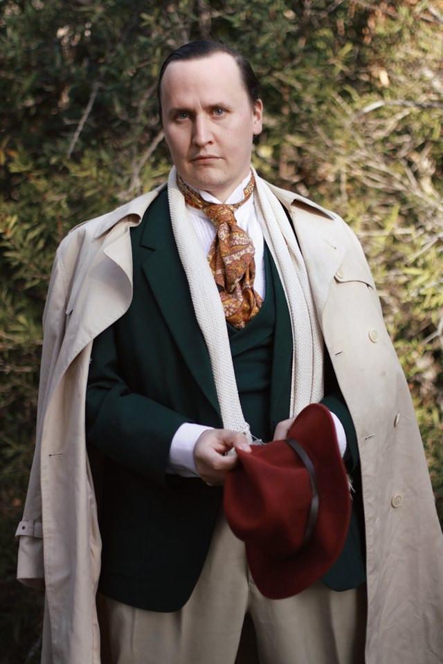 "James Penn as Turiddu in ""Cavalleria Rusticana"""