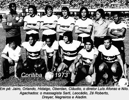 Time Campeão do Torneio do Povo em 1973.  Créditos: Tua Camisa Alviverde