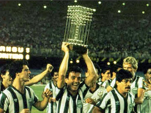 Coritiba Campeão Brasileiro de 1985.  Créditos: Coritiba Footbal Club.