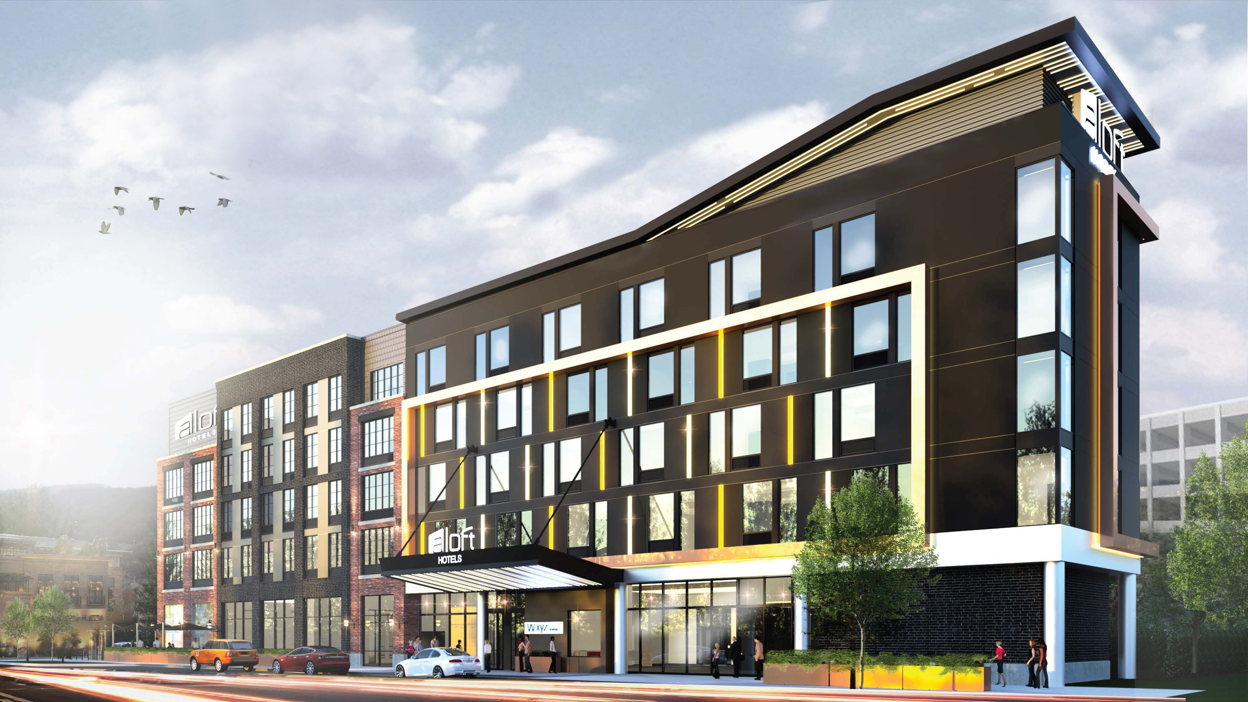 Aloft Easton - Rendering