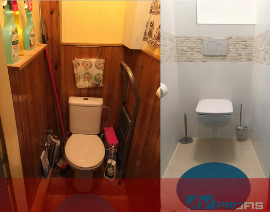 Rekonstrukce WC.