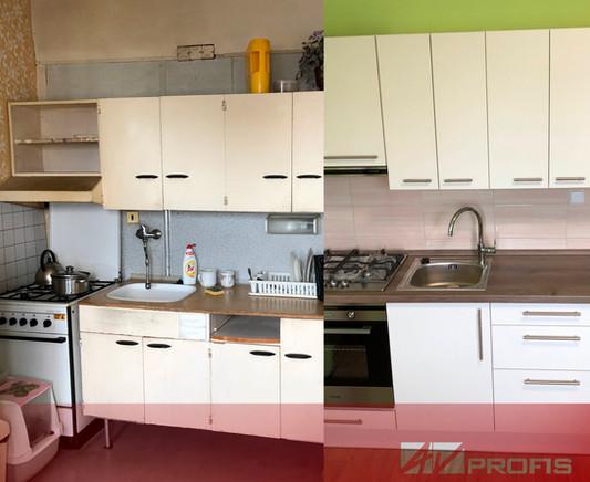 Rekonstrukce kuchyně.