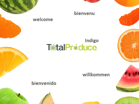 Welcome!  fruit, import, totalproduce, indigo
