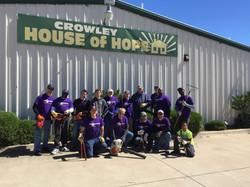 Volunteering at House of Hope