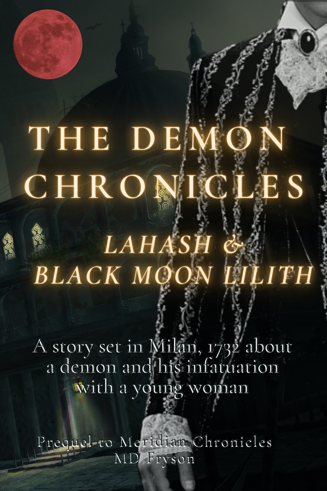 The Historical Novel about a Demon and facing his own demons.