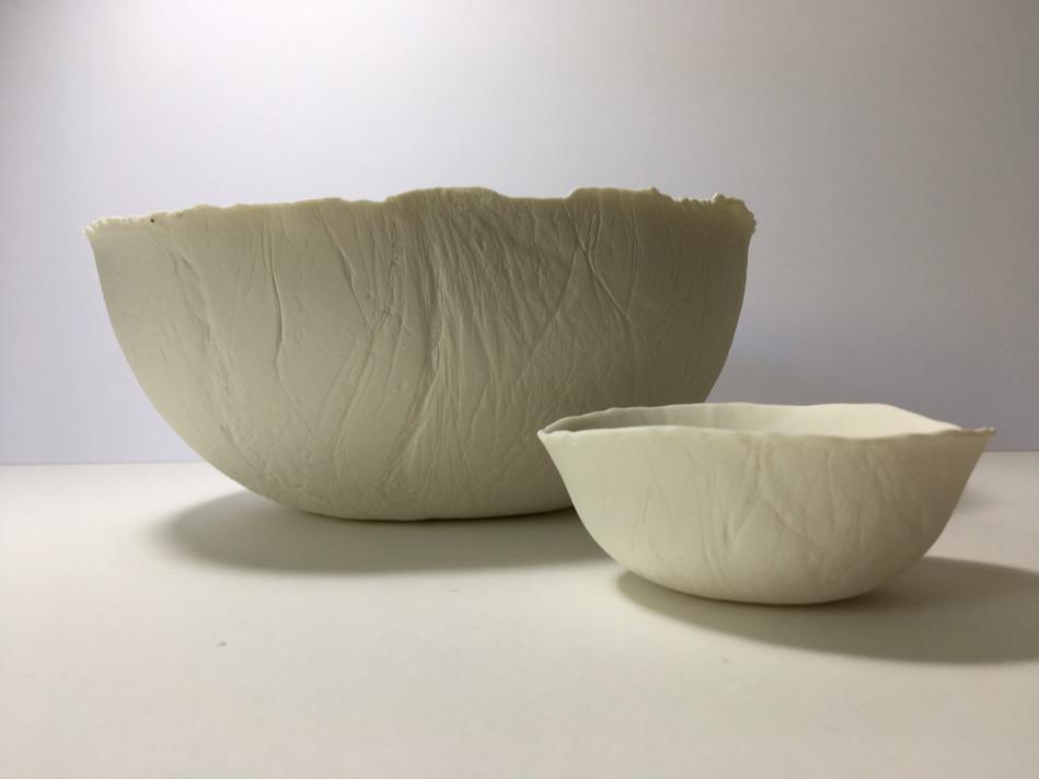 White Porcelain bowls