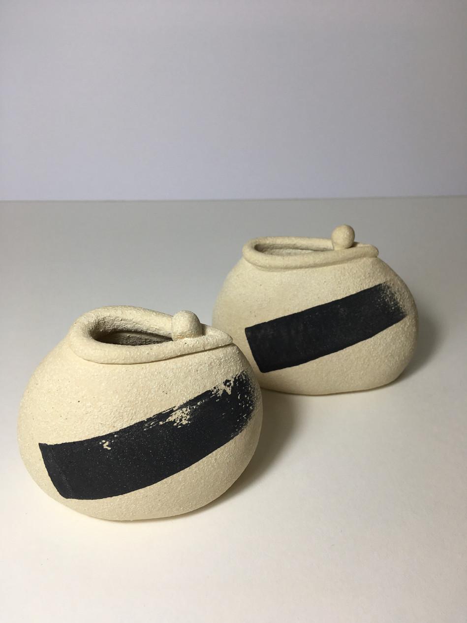 Brush stroke vessels