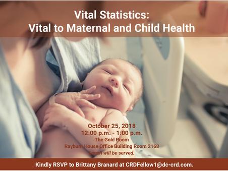 Vital Statistics: Vital to Maternal and Child Health