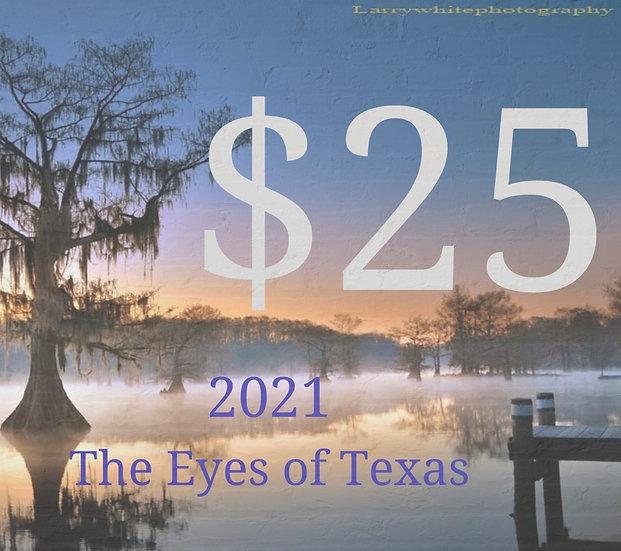 2021 Eyes of Texas Calendar