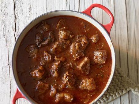 Kochen mit Balsamico- Reh Gulasch mit Balsamico