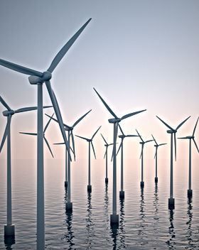 Wind Turbines on Water
