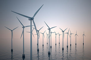 Windkraftanlagen auf Wasser