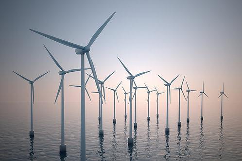 Renewable wind power carbon offsets (£3 per ton)