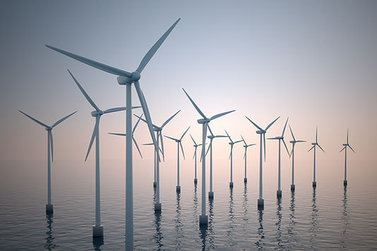 Turbinas de vento na água