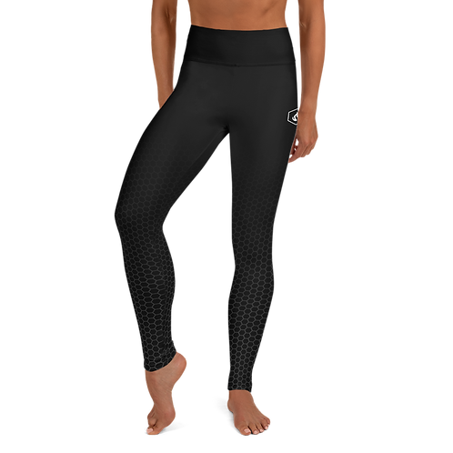 Firestorm Basics Yoga Leggings - Black