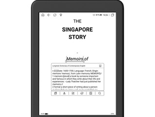 How many dictionaries can I get in an eReader?
