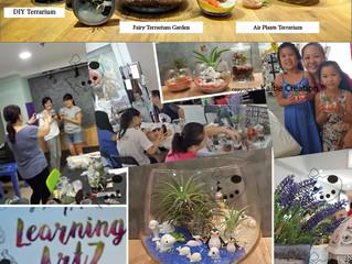 Community ECO Green Movement Project - Terrarium in Singapore