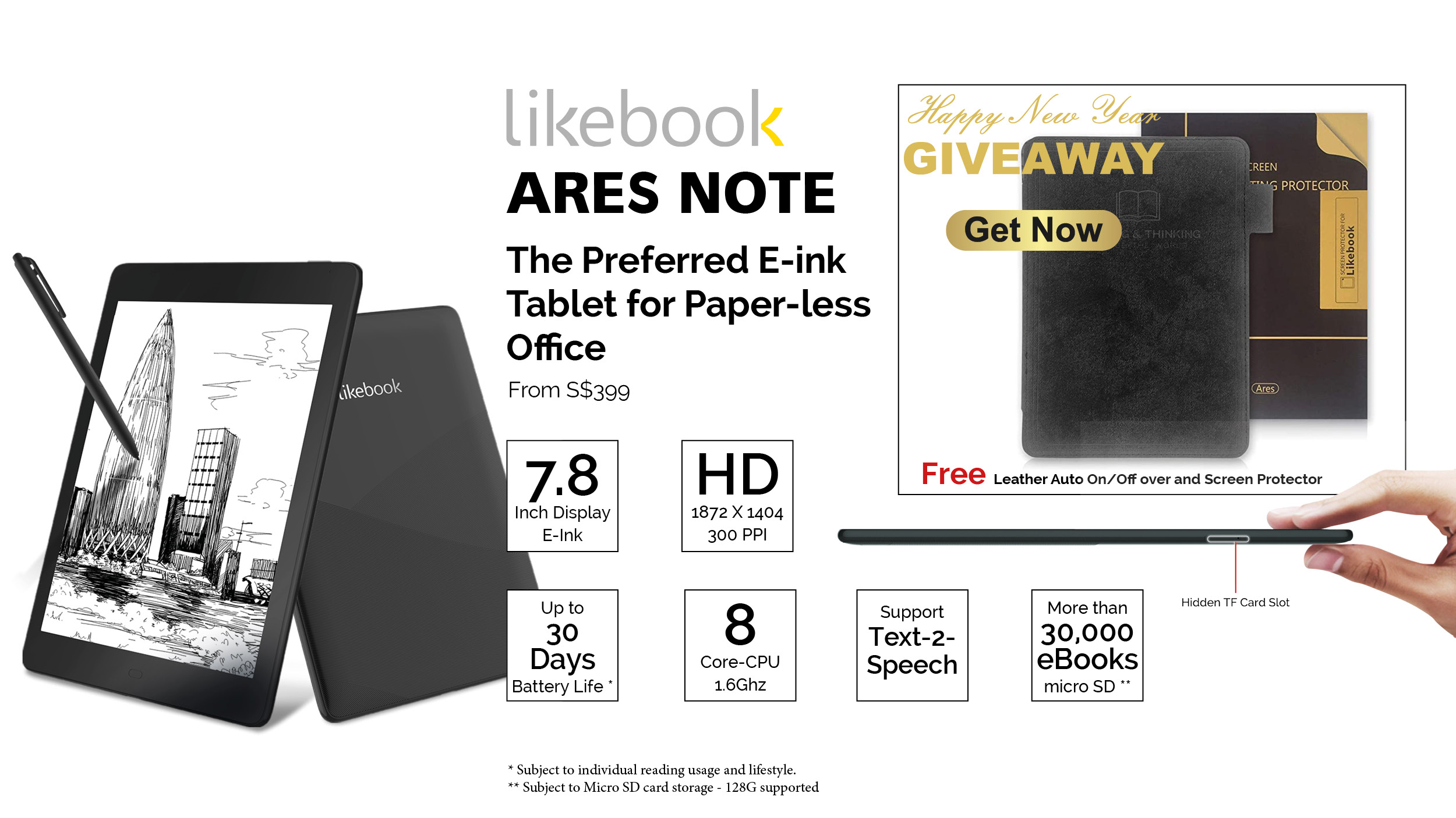 Likebook ARES Note