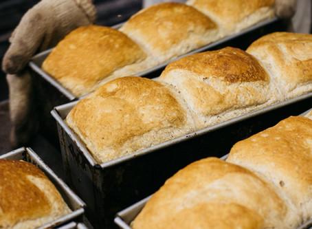 秋の月曜祝日はパンを製造します!