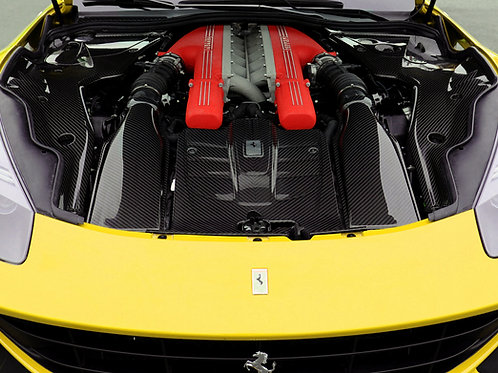 F12 Berlinetta Complete Engine Cover Set 5
