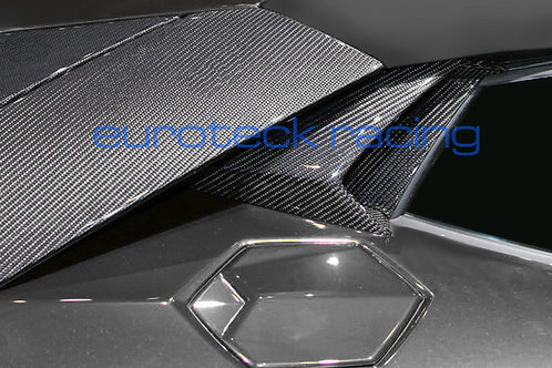 Aventador Carbon Fiber SV Style Side Intakes 3 pc. Set